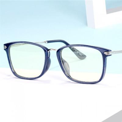派麗蒙 防藍光眼鏡 防輻射眼鏡 看電腦玩手機游戲保護眼睛疲勞男女款護目鏡全框通用P7851C1F