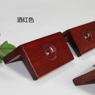 纯实木护角龙眼护墙角海棠木护角线护角条龙珠保护条防撞条免打孔 酒红色 150厘米整根