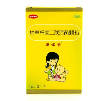 媽咪愛枯草桿菌二聯活菌顆粒1g*10袋 北京韓美
