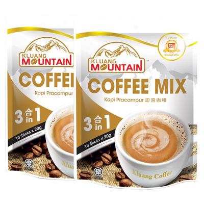 2袋装|Cap Televisyen 电视机牌 南山即溶咖啡 3合1 200g 袋装 马来西亚原装进口 原味咖啡速溶咖啡