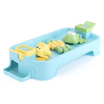 貝恩施 兒童益智玩具 男孩 女孩玩具戲珠桌面游戲親子互動青蛙吃豆【2人款】
