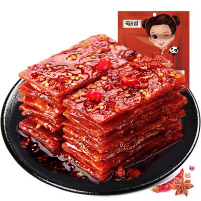 蜀道香 肉干肉脯 麻辣猪肉脯100g(休闲零食)