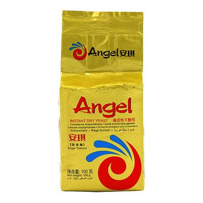 安琪(Angel) 高糖高活性干酵母(金色装)100g袋装 自制面包 包子 面条 发酵粉