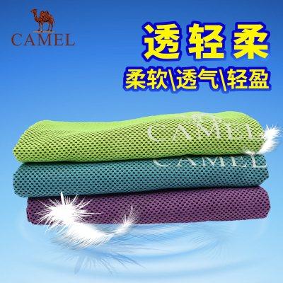 CAMEL駱駝戶外運動毛巾 運動健身休閑男女通用柔軟快干吸汗運動冷感毛巾