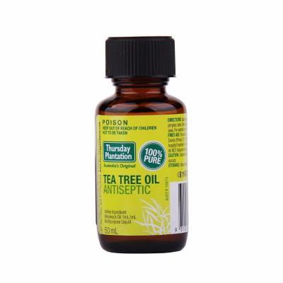 【1瓶】Thursday Plantation星期四農莊茶樹單方精油 50ML殺菌消毒 防蚊蟲 舒緩鼻塞