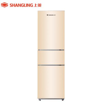 上菱 BCD-211WTYD 三门冰箱 风冷无霜电冰箱 家用冰箱 节能静音 三门三温 中门软冷冻