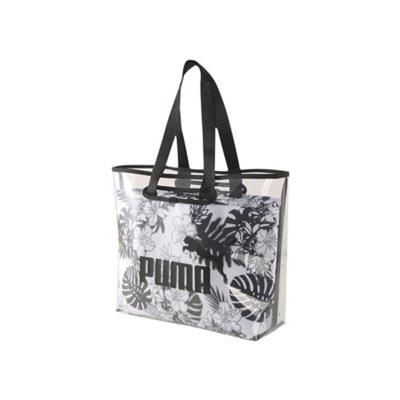 PUMA彪馬單肩包女包透明果凍包手提包運動包 拎包挎包077002