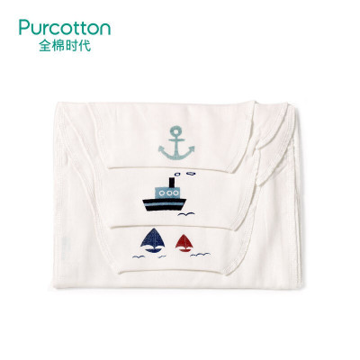 全棉時代 幼兒紗布汗巾25x50cm, 1條裝