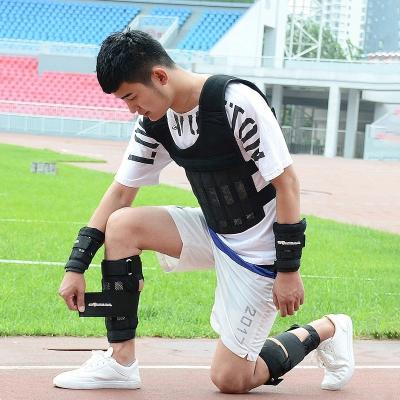 愛倍健負重設備沙袋綁腿綁手跑步訓練裝備男女通用可調鉛塊鋼板10kg