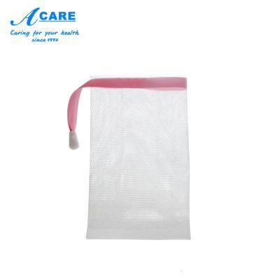 方形中號1個#acare艾呵洗面奶起泡網手工香皂打泡器泡沫潔面肥皂網泡袋子洗臉部專用