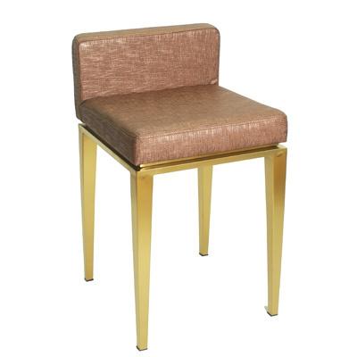 歐式吧臺椅簡約珠寶椅眼鏡高腳凳子手機店椅靠背凳子前臺專用椅子歐因