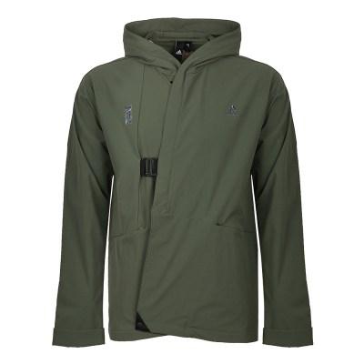 阿迪达斯(adidas)2018秋男WJ JKT WRAP梭织夹克 DM5208