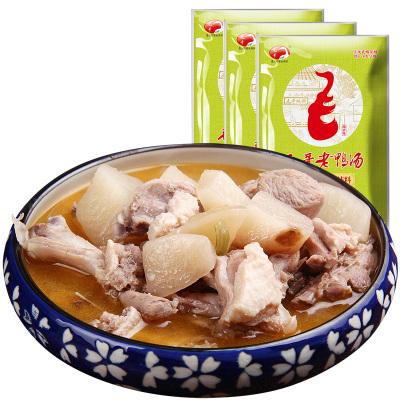 【2件8折】毛哥酸蘿卜老鴨湯350g*3袋重慶特產 燉料煲湯調料清湯火鍋底料