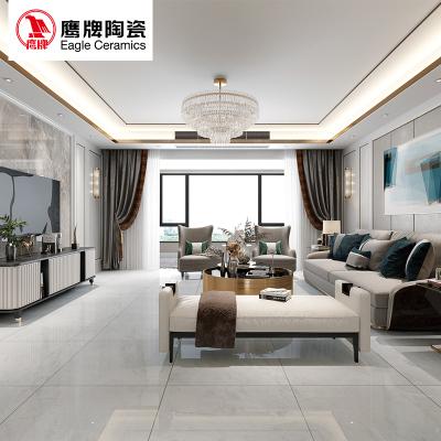 鹰牌陶瓷 全抛釉地砖 客厅瓷砖 背景墙釉面砖 800*800 海洋