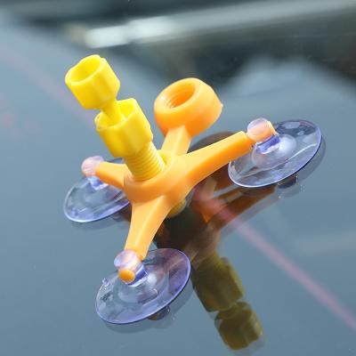 汽車玻璃修復液前擋風車玻璃裂紋裂縫裂痕風擋修補液還原劑膠工具 長裂紋 玻璃修復套裝(10-25厘米)+固化燈