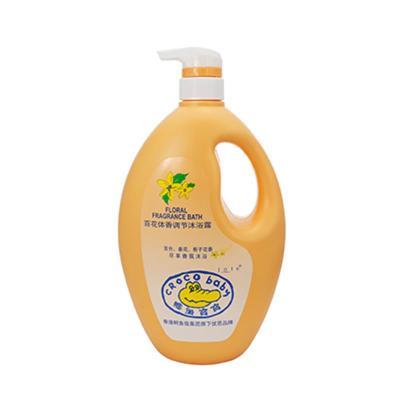 CROCO baby鱷魚寶寶 嬰兒童成人百花體香調節沐浴露1.1kg 全家型大瓶裝