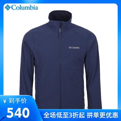 2020春夏哥倫比亞戶外運動男裝防水輕薄透氣軟殼衣夾克WE1306
