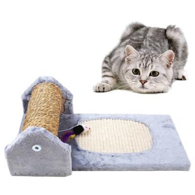 猫森林滚筒猫抓板 猫爬架剑麻加厚滚筒猫抓板 柱子猫窝猫爬架剑麻席猫树猫架猫跳台猫咪玩具