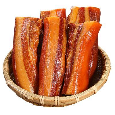 正宗農家煙熏土豬老臘肉四川貴州湖南特產五花臘肉 煙熏臘肉3斤