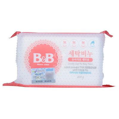 保寧(B&B)母嬰幼兒童香皂(洋槐香) 200g 有香味洗衣皂