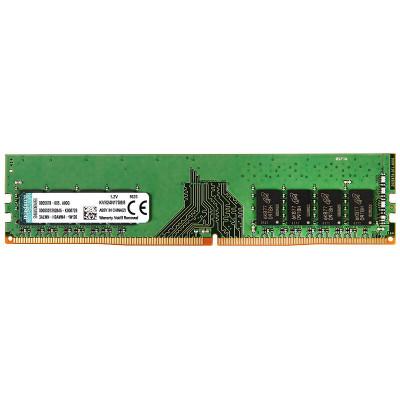 金士顿(Kingston)KVR DDR4 2400 8G 台式机电脑内存条(宽窄版随机发货)