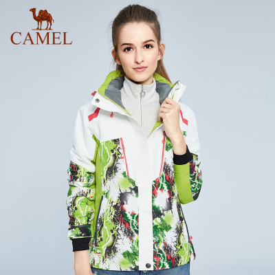 CAMEL骆驼户外滑雪服 秋冬亲子款男女儿童加厚保暖登山滑雪服外套