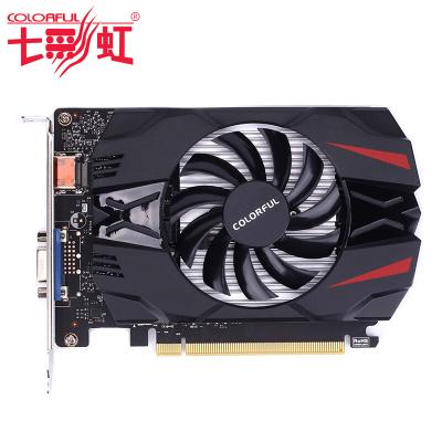 七彩虹(Colorful) 游戏办公显卡GeForce GT1030 2G 黄金版 台式电脑显卡 游戏显卡