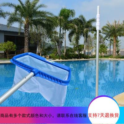 游泳池捞网超密泳池捞叶网大号鱼池水景池水池清洁打捞网配伸缩杆