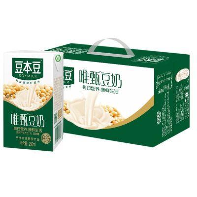 【8月新產】豆本豆 唯甄豆奶250ml*24瓶禮盒 早餐奶植物蛋白飲品