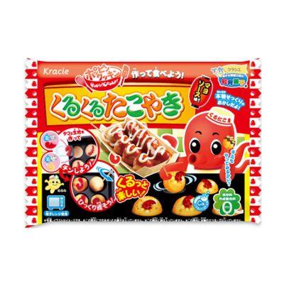 日本食玩小玲玩具可食小林食完可以吃的曰本食丸可麗餅兒童午餐 章魚小丸子