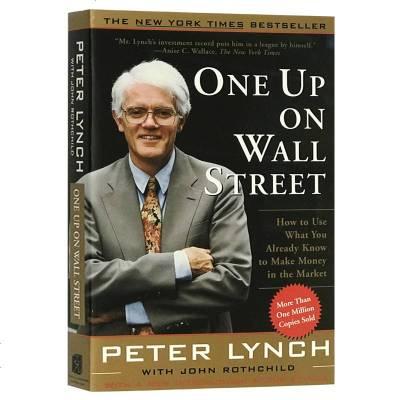 股票理財書 彼得林奇的成功投資 英文原版 One Up On Wall Street 彼得·林奇的選股戰略 英文版