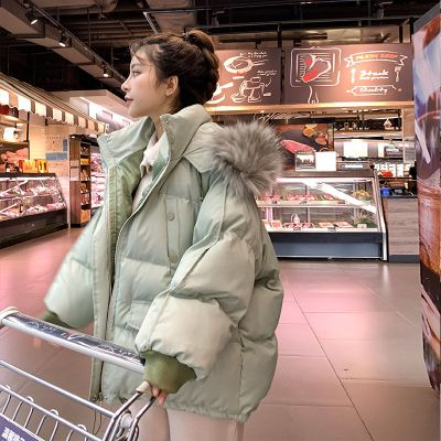 2019新款冬季棉衣女短款韓版棉服寬松面包服學生棉襖女紅外套 棉 威珺