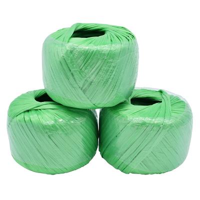賽拓(SANTO)草球繩 塑料繩捆扎繩 打包捆綁繩 單個150g 長約120米 綠色3個裝1988