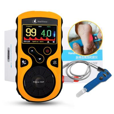 力康婴儿血氧仪器早产儿医用新生儿家用脉搏血氧饱和度仪100F电池版