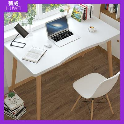 北歐書桌電腦桌家用學生臺式桌現代臥室簡約寫字桌簡易辦公小桌子 弧威(HUWEI)