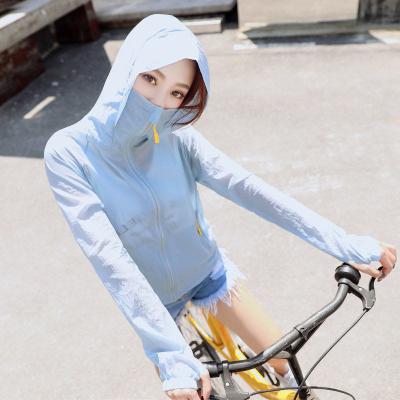芷臻zhizhen2020夏季新款防曬衣女短款薄外套潮騎車長袖防曬服大碼百搭空調防曬衫