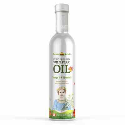 進口亞麻籽油加拿大農夫世嘉冷榨寶寶孕婦可用