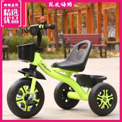 兒童三輪車腳踏車童車寶寶手推車帶推把自行車1-3-6歲單車玩具車小寶寶兒童車子輕便耐磨男孩戶外便攜式幼兒男女通用型