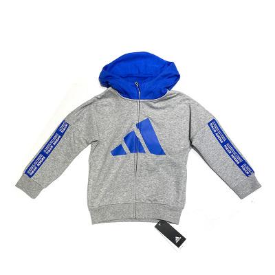 阿迪達斯adidas2020春男小童針織連帽夾克FN0926