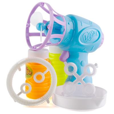 港比熊 兒童電動吹泡泡機泡泡水玩具泡泡槍電動泡泡戲水玩具(顏色隨機)HL138-1-電動泡泡槍
