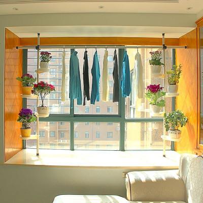 创意多层铁艺客厅窗台悬挂式花架子室内飘窗绿萝小阳台植物置物架