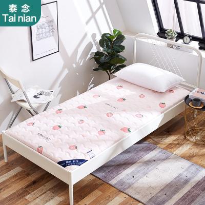 泰念Tai nian 新款加厚6cm床墊防滑水洗棉床墊 學生宿舍上下鋪單人床水洗棉防滑0.9m 1.2m卡通床墊