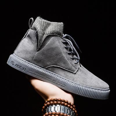 VIDAL SASSOON男鞋SAG-ACCL78188A秋冬季新款韩版高帮英伦工装鞋休闲鞋青年板鞋潮百搭男士运动鞋