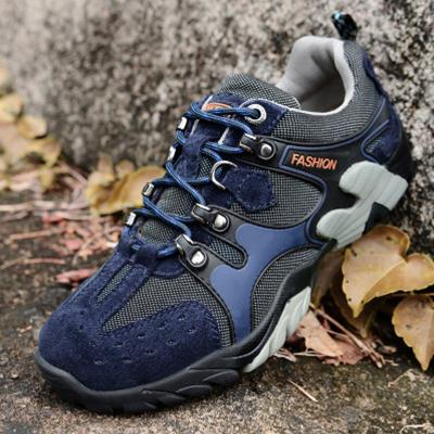 男士鞋靴子男低帮户外休闲登山鞋8832-1