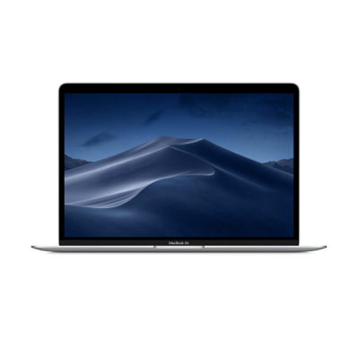 2019款 新品 Apple MacBook Air 13.3英寸 笔记本电脑 i5 1.6GHz 8GB 256GB 银色 MVFL2CH/A