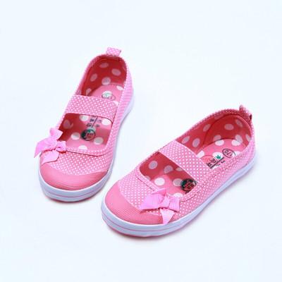 青島環球兒童鞋 兒童舞蹈鞋男女童小白鞋童鞋帆布鞋體鞋白球鞋MY