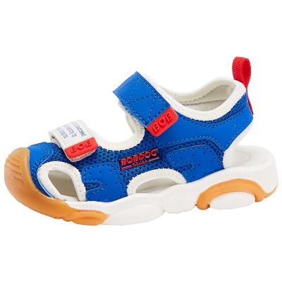 BOBDOG HOUSE巴布豆童鞋兒童涼鞋夏季男童女童寶寶3-7歲沙灘鞋子6253