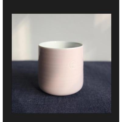 朝日烧-----樱花粉茶杯 /瓷