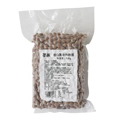圣家珍珠粉圓奶茶珍珠豆軟Q粉圓西米露鮮芋仙甜品奶茶用原料500g