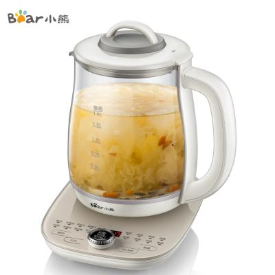小熊(Bear)養生壺 YSH-C18P1 1.8L大容量 旋鈕式智能家用辦公室煮茶 高硼硅玻璃其他電煮茶壺花茶